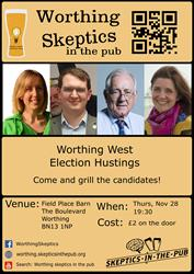 All the Candidates for West Worthing